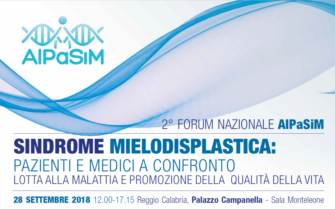 II Forum nazionale AIPaSiM, Reggio Calabria 28.09.2018