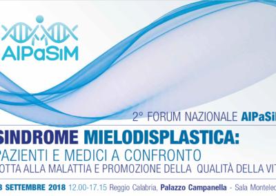 2° Forum AIPaSiM, Reggio Calabria 28 settembre 2018