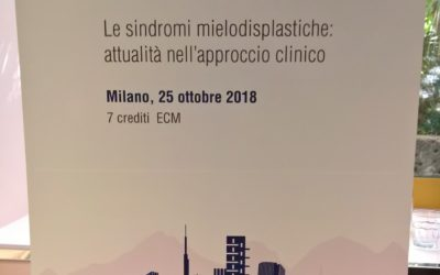 Le Sindromi Mielodisplastiche: attualità nell'approccio clinico