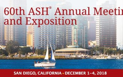 60th ASH – Annual Meeting and Exposition 1-4 dic 2018