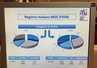 Grafico Registro italiano MDS
