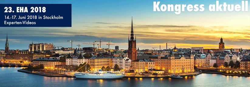 Highlights – Partecipazione Congresso annuale dell'Associazione EHA – Stoccolma