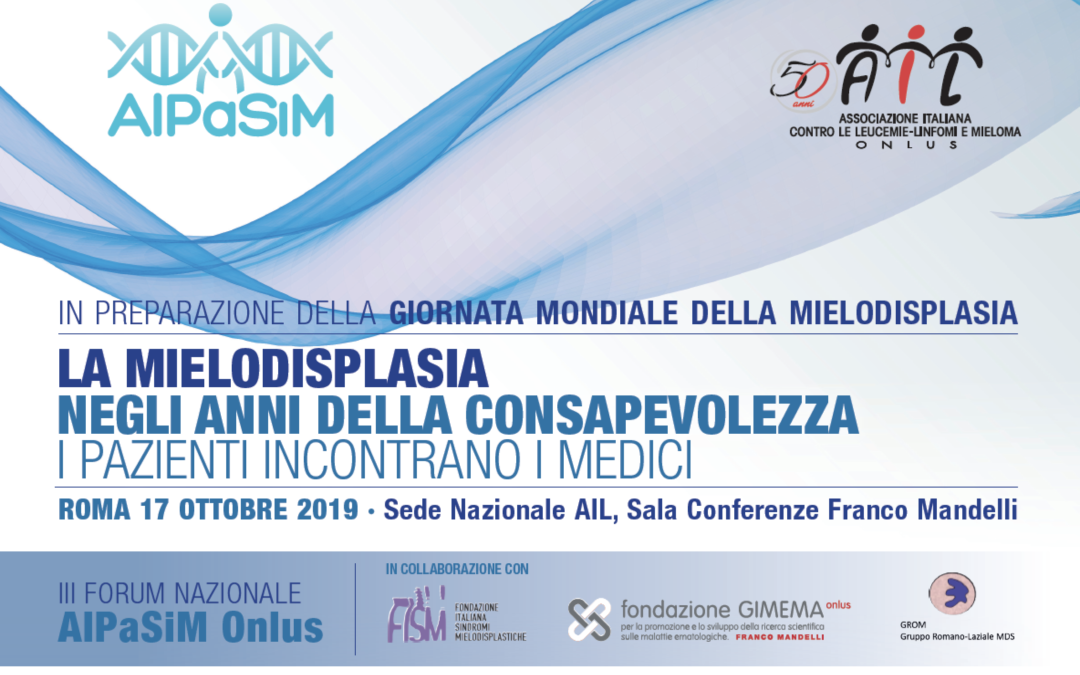 III Forum nazionale AIPaSiM, Roma 17.10.2019