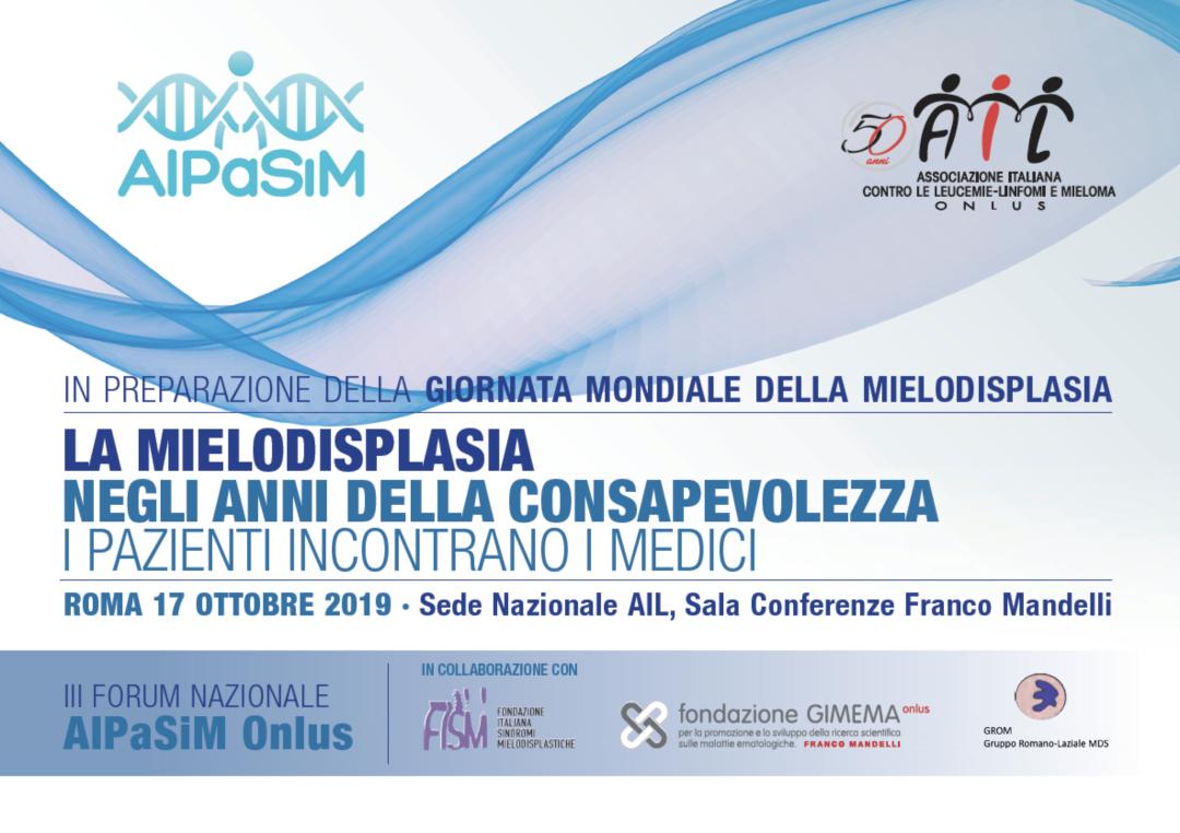 III Forum AIPaSiM, Roma 17 ottobre 2019