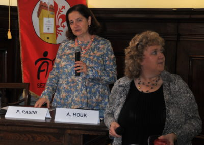 prof.ssa Valeria Santini, dott.ssa Alice Houk