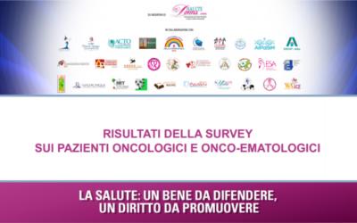 Ricerca sulla tutela dei pazienti onco-ematologici durante la convivenza con il virus in Italia.