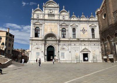 Piazza e palazzo Scuola Grande di San Marco
