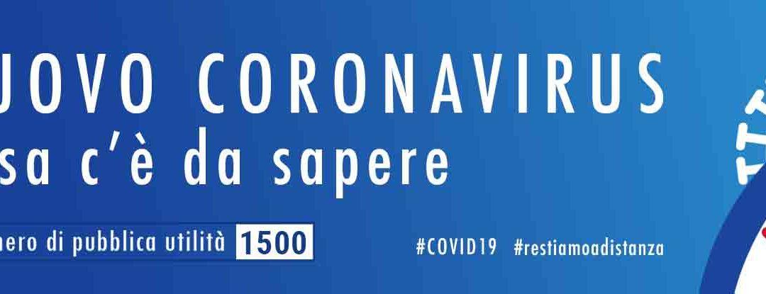 Coronavirus – autunno 2020